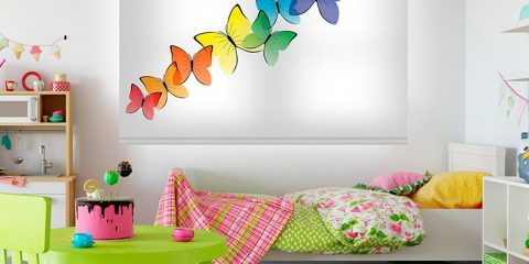 Estor enrollable infantil - Colección Butterflies
