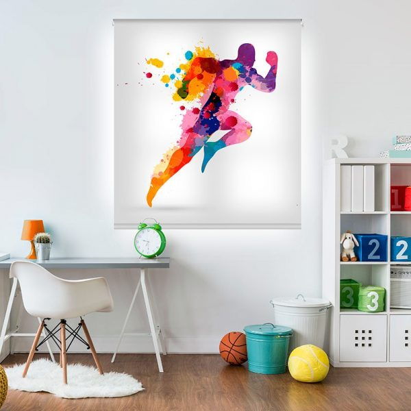 Estor enrollable juvenil - Colección Deportes