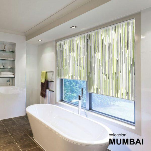 Estor Decorativo Colección Mumbai