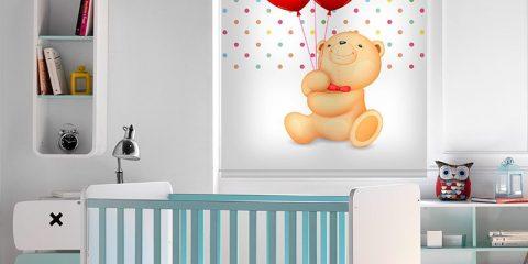 Estor enrollable infantil - Colección Teddy
