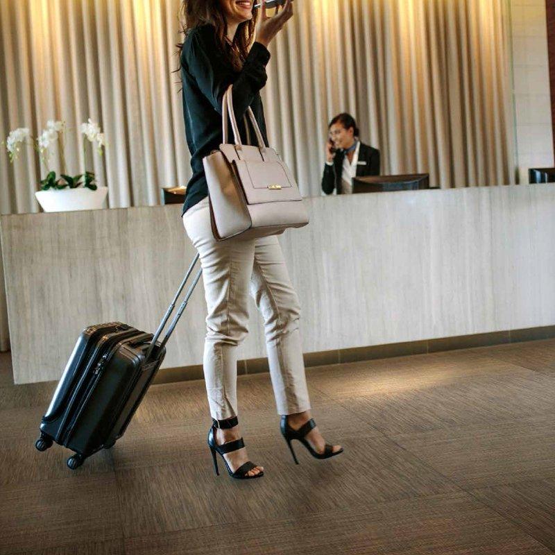 Recepción hotel Abu Dhabi